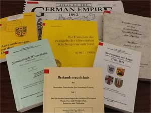 German Collection in the CML library selected volumes